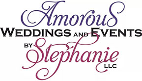 Amorous Weddings and Events logo